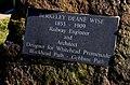 Berkeley Deane Wise plaque, Whitehead - geograph.org.uk - 1746685.jpg