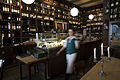 Berlin- A restaurant with candles and a wall winery in - 3770.jpg