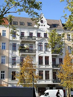 Warschauer Straße - House no. 26 at Warschauer Straße