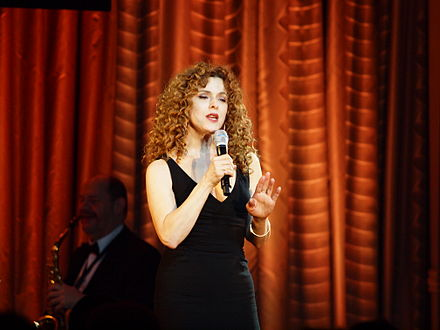 Peters at the Drama League in 2010 Bernadette Peters Drama League.jpg