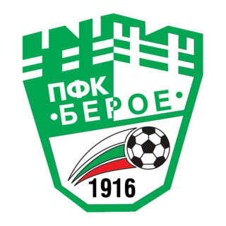 PFC Beroe Stara Zagora association football club in Bulgaria