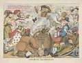 Beroking van de Corsicaan, 1813 Funcking the Corsican (titel op object), RP-P-1903-A-23330.jpg