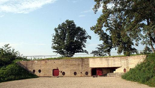 B-Werk Besseringen Eingangshof, Bunker des Atlantikwalls an der Saar