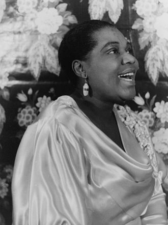 Bessie Smith - Portrait of Smith by Carl Van Vechten
