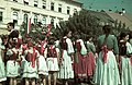 Beszterce, Fa utca (strada Liviu Rebreanu), 1940. szeptember 8. Fortepan 3953.jpg
