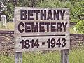 Bethany Cemetery Sign, 2015-06-11.jpg