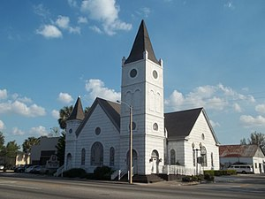 National Register of Historic Places listings in Putnam County, Florida - Image: Bethel African American Episcopal Church Palatka 01