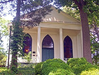 Bethesda Meeting House historic Presbyterian church complex located in Bethesda, Maryland, United states