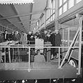 Bezoek aan het Nederlands Scheepsbouwkundig proefstation te Wageningen, rondgang door het - Nationaal Archief - 911-1110.jpg