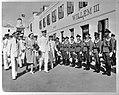 Bezoek van prinses Juliana aan West-Indië (februari-maart 1944). Curaçao. Inspe…, Bestanddeelnr 935-1534.jpg