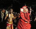 Bhagavathi thira with thamburan wayanad.jpg