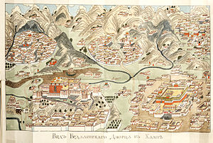 Hyacinth (Bichurin) - Bichurin's map of Lhasa.
