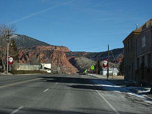Bicknell, Utah - Image: Bicknell Utah