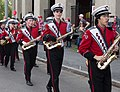 Big Red Marching Band uniforms, Cornell University.jpg