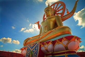 Wat Phra Yai - Big Buddha statue