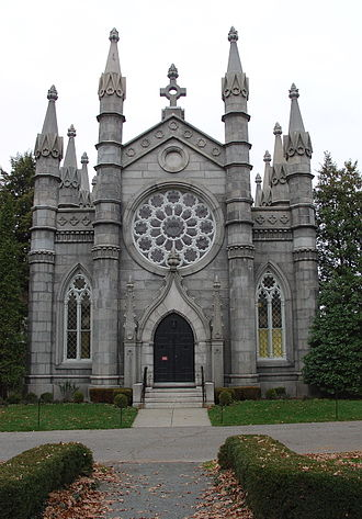 Mount Auburn Cemetery - Bigelow Chapel