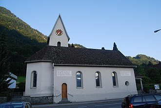 Glarus Nord - Bilten village church