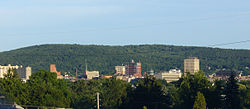 Binghamton, New York skyline, June 2007.jpg