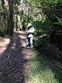 Bird watcher in Sherbrooke Forest.jpg