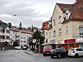 Birkenwaldstraße in Stuttgart mit Bäckerei Lang in der Mönchhalde - panoramio.jpg