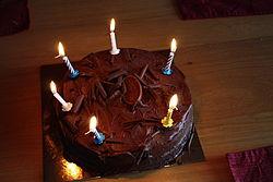 Birthday cake, Downpatrick, June 2010.JPG