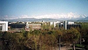 Bishkek cityscape