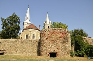 Orăștie - Fortified church in Orăștie