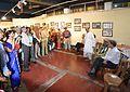 Biswatosh Sengupta - Inaugural Address - Atanu Ghosh Solo Exhibition - Kolkata 2013-12-05 4688-4690.JPG