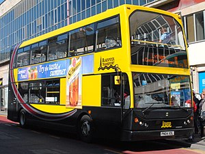 East Lancs Myllennium Lolyne - A Myllennium Lolyne owned by Blackpool Transport