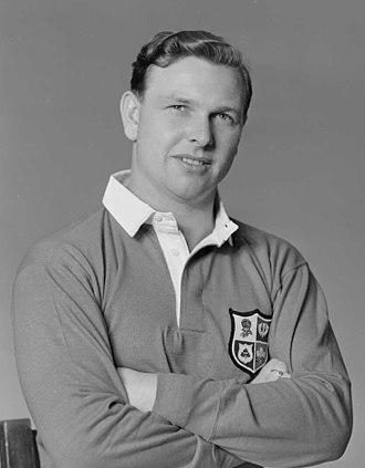 Bleddyn Williams - Williams in New Zealand in 1950