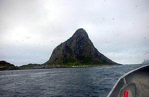 Bleik - Bleiksøya with its sea bird colony