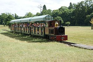 Blenheim Park Railway - Image: Blenheim Park Ry from PG2 2013 07
