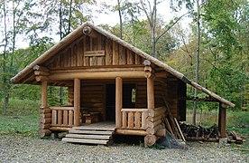 Cabane en bois wikipedia