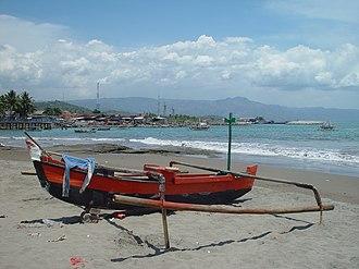 Palabuhanratu - Fishing boat harbour at Pelabuhan Ratu