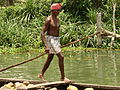 Boatman on Backwaters of Kerala - India.JPG