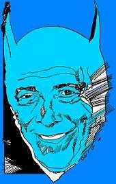 Bob Kane ritratto da Graziano Origa