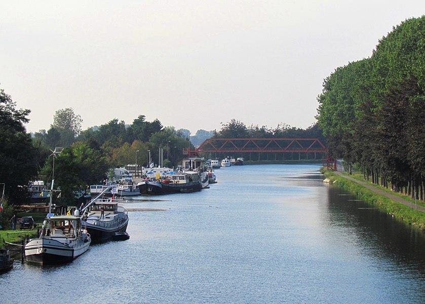 Jachthaven in de Zuid-Willemsvaart bij Bocholt (B)
