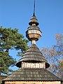 Bodružal stanova strecha nad babincom s kužeľovým nadstavcom a cibuľovou vežičkou.jpg