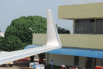 Aviation Partners Inc. - An API blended winglet on a Boeing 737-800