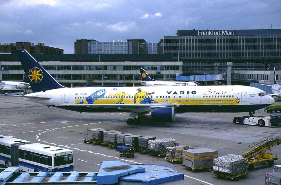 Boeing 767-341-ER, Varig AN0251315