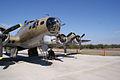 Boeing B-17G-85-DL Flying Fortress Nine-O-Nine RNose LEngines CFatKAM 09Feb2011 (14797313208).jpg