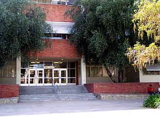 UCLA Henry Samueli School of Engineering and Applied Science - Entrance to Boelter Hall