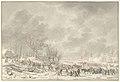 Boeren en militairen vluchtende over een bevroren rivier, objectnr TA 10649.jpg