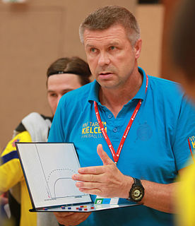 Bogdan Wenta Polish politician and handball player