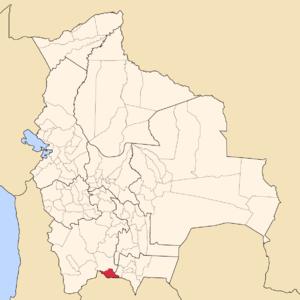 Modesto Omiste Province