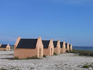 Bonaire Red Slave Huts