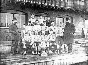 Bootle F.C. (1879) - The Bootle team pictured in 1888.