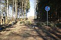 Border crossing Lobendava-Severní and Steinigtwolmsdorf near Severní, Lobendava, Děčin District.jpg