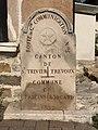 Borne Route Grande Communication 5 Ancienne Limite Communale Fareins Beauregard Ain 4.jpg