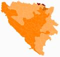 Bosnia and Herzegovina subdivision map Posavina Canton.png